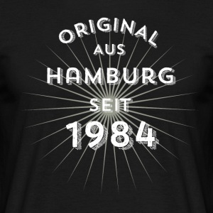 Original from Hamburg since 1984 - Men's T-Shirt