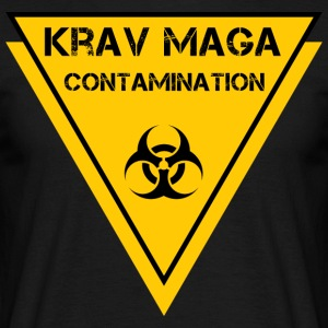 Biohazard krav maga - Men's T-Shirt