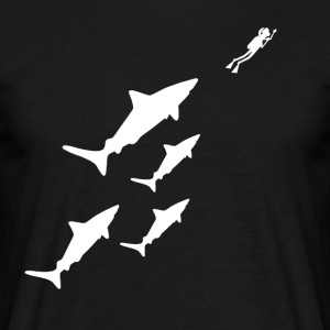 sharks - Men's T-Shirt