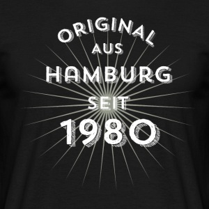 Original from Hamburg since 1980 - Men's T-Shirt