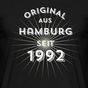 Original from Hamburg since 1992 - Men's T-Shirt