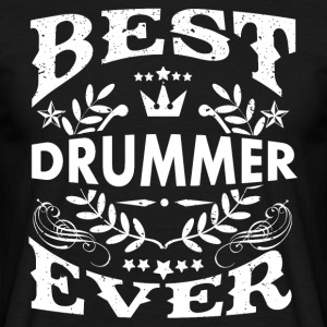 Best percussionist ever - Men's T-Shirt