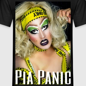 Pia Panic - Men's T-Shirt