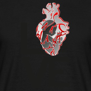 Humanheart_LOVE - Men's T-Shirt