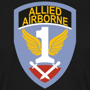 Først Allied Airborne Army - T-skjorte for menn