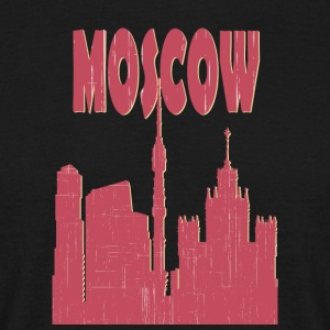 Moskva City - Herre-T-shirt
