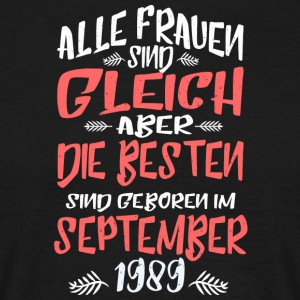September 1989 - Männer T-Shirt