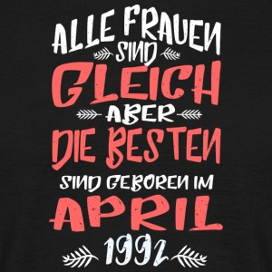 April 1992 - Männer T-Shirt