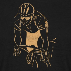 Course cycliste Racer - T-shirt Homme