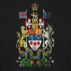 Canadian Coat of Arms Canada Symbol - T-shirt herr