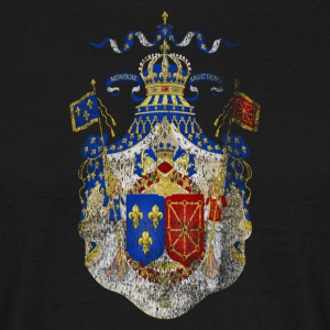 Coat of Arms francese France Simbolo - Maglietta da uomo