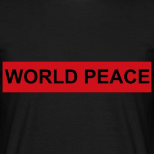 WORLD PEACE - Männer T-Shirt