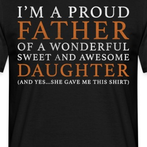 Original Fader Daughter gave - Herre-T-shirt