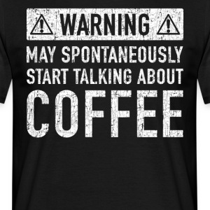 Original Coffee Gift: Order Here - Men's T-Shirt