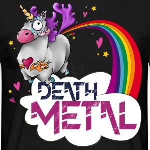 Death Metal Unicorn - T-shirt Homme