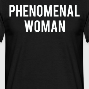 Phenomenal woman love shirt - Men's T-Shirt