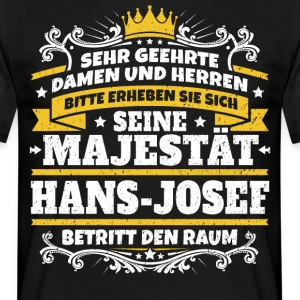 His Majesty Hans-Josef - Men's T-Shirt