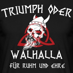 Viking Valhalla - T-skjorte for menn