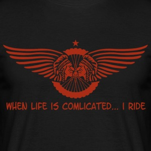 When Life is complicated - Men's T-Shirt