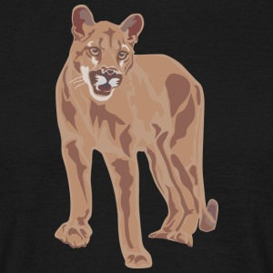 Wild cat - Men's T-Shirt