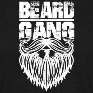 beard gang white - Männer T-Shirt