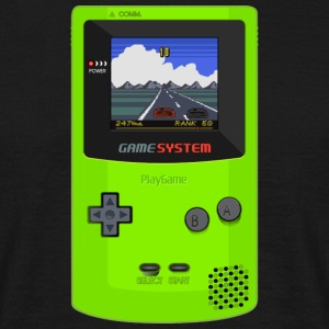 game boy - T-shirt herr