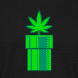 Weed Retro - T-shirt Homme