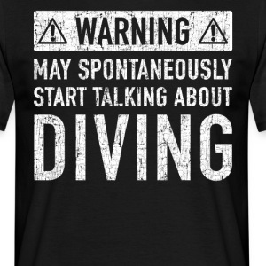 Original Diving Gift: Order Here - Men's T-Shirt