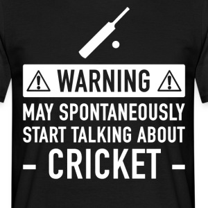Grappig Cricket Cadeau Idee - Mannen T-shirt