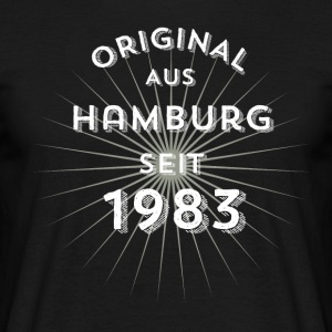 Original from Hamburg since 1983 - Men's T-Shirt