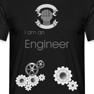 i am an engineer - Men's T-Shirt