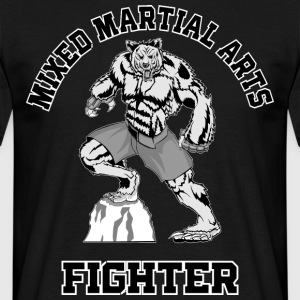 MMA Fighter - T-skjorte for menn