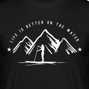 Mountain SUP - women - white - Männer T-Shirt