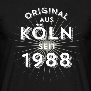 Original from Cologne since 1988 - Men's T-Shirt