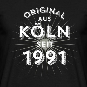 Original from Cologne since 1991 - Men's T-Shirt