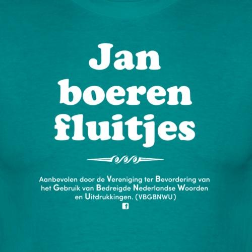 Janboerenfluitjes - Mannen T-shirt