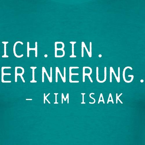 Ich bin Erinnerung - Kim Isaak - Ghostbox T-Shirts - Männer T-Shirt