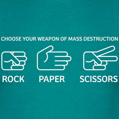 Rock Paper Scissors - Mannen T-shirt