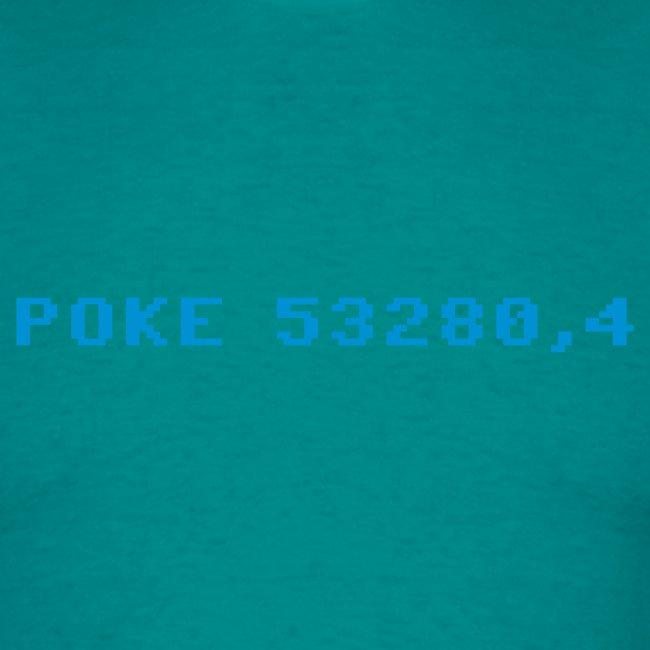 poke 53280 4