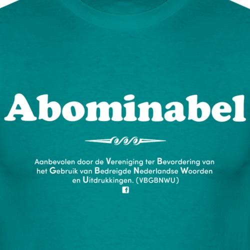 Abominabel - Mannen T-shirt