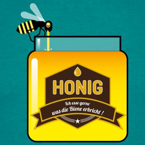 Honig ist lecker - Männer T-Shirt