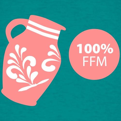 Bembel 100% FFM - Männer T-Shirt