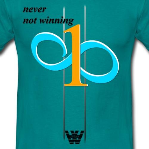 nevernotwinning - Männer T-Shirt