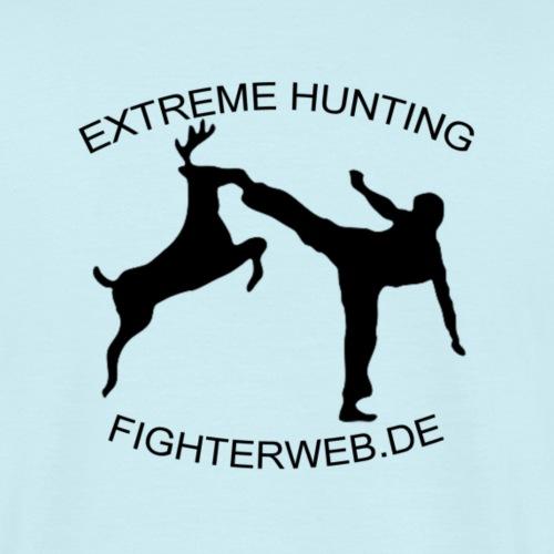 Fighterweb Hunting - Männer T-Shirt