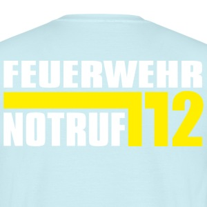 Fire Emergency Department 112 - Mannen T-shirt