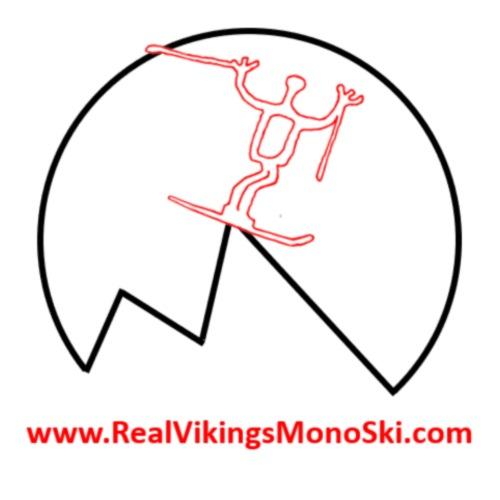 RVM round logo - T-shirt herr