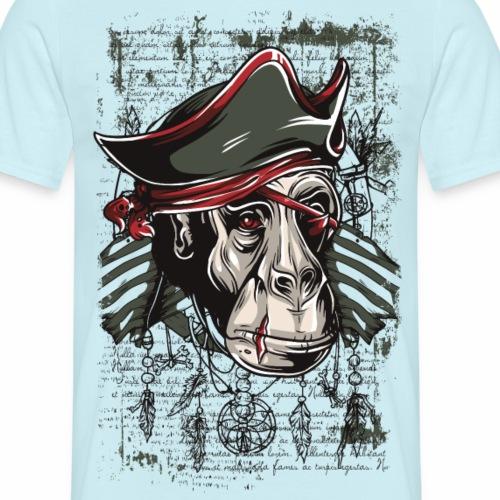 PiratApe - Männer T-Shirt