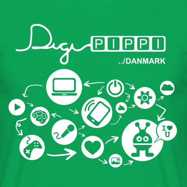 DigiPippi DK white