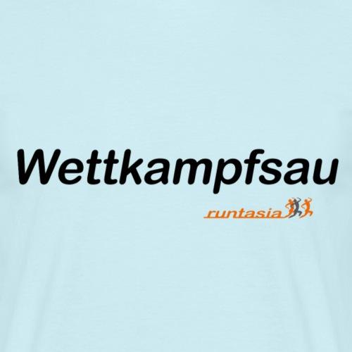 wettkampfsau - Männer T-Shirt