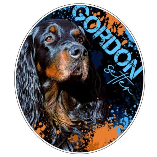 Gordon Setter Splash II - Miesten t-paita